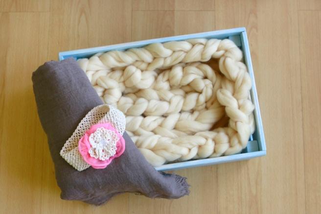 Cinta para bebés a crochet 27