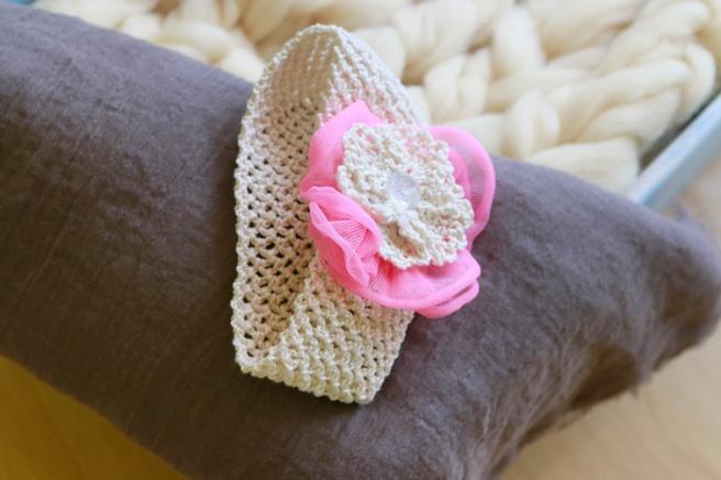Cinta para bebés a crochet 30