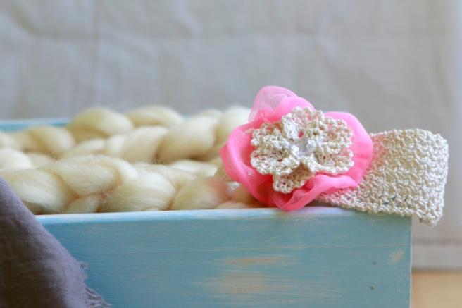 Cinta para bebés a crochet 32