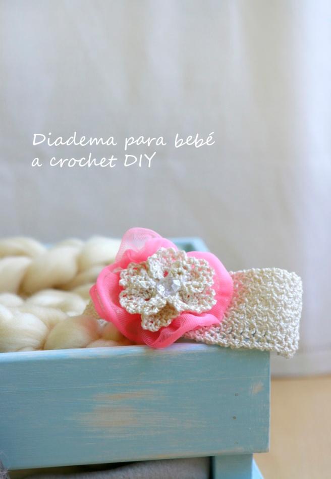 Cinta para bebés a crochet 33b