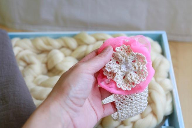 Cinta para bebés a crochet 35