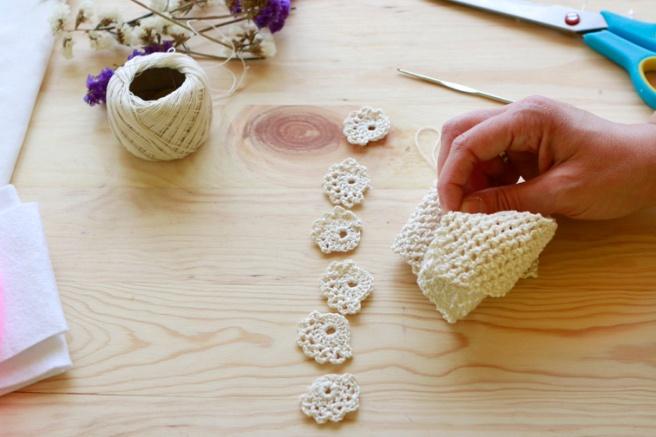 Cinta para bebés a crochet 4