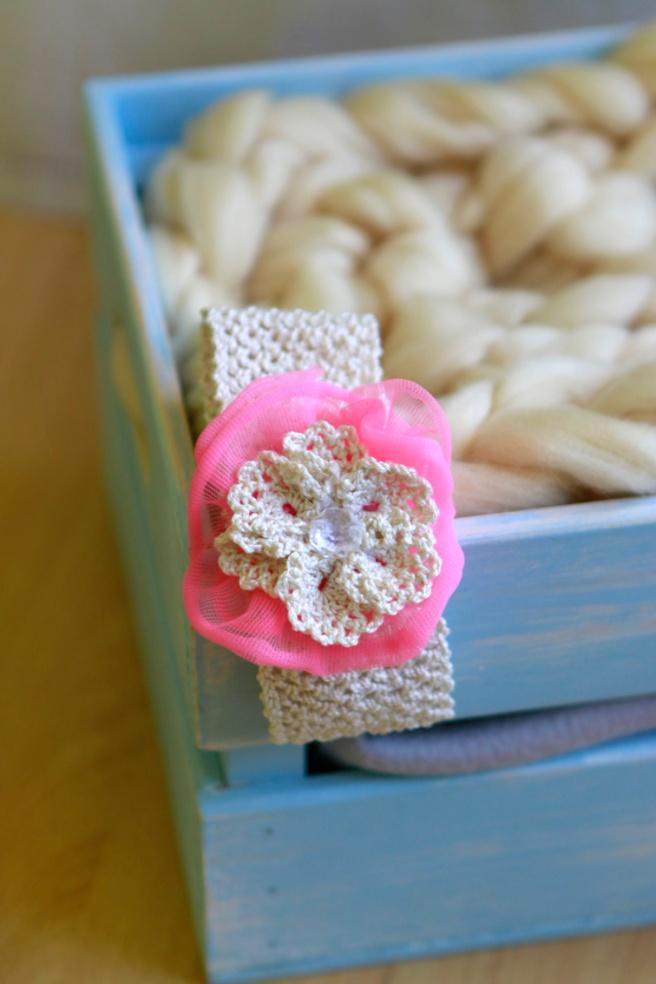 Cinta para bebés a crochet 42