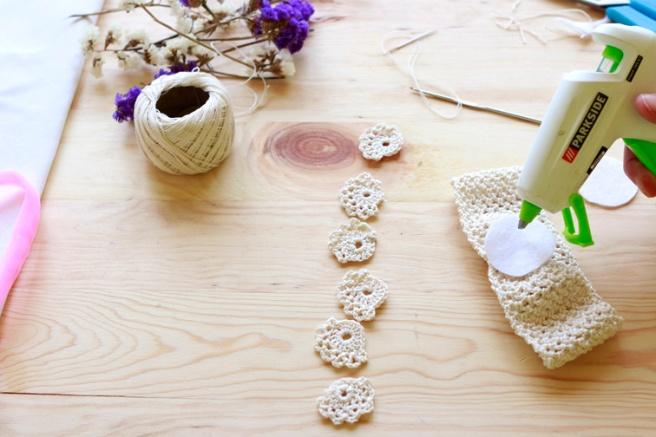 Cinta para bebés a crochet 6