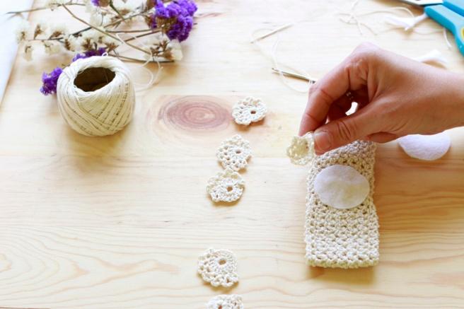 Cinta para bebés a crochet 9