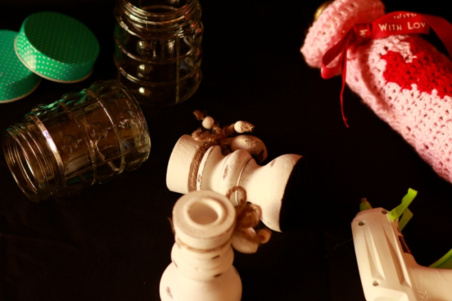 Copas con botes de cristal DIY 1b