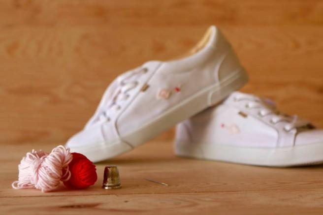 cómo customizar unas zapatillas 10