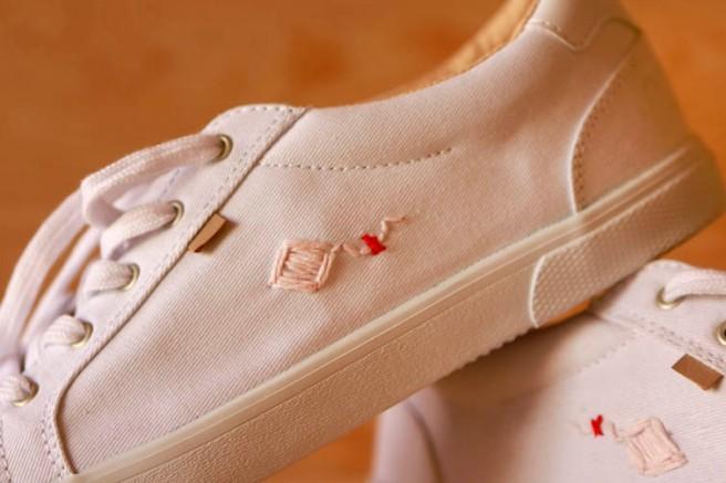 cómo customizar unas zapatillas 11