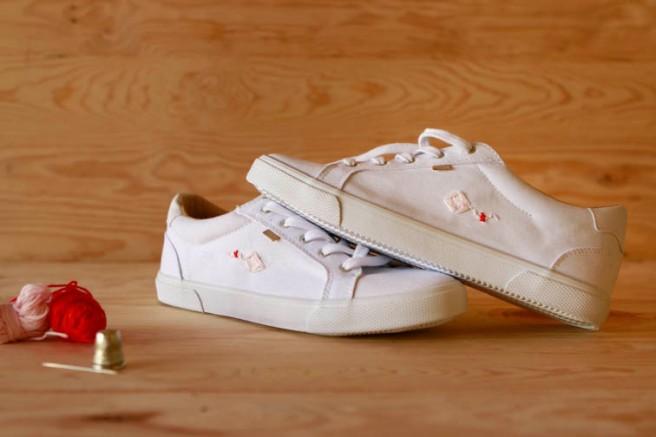 cómo customizar unas zapatillas 13