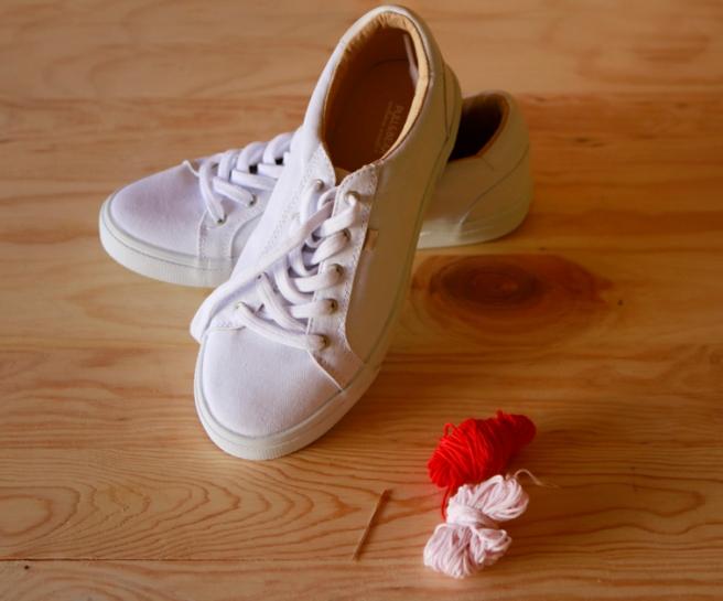cómo customizar unas zapatillas 2