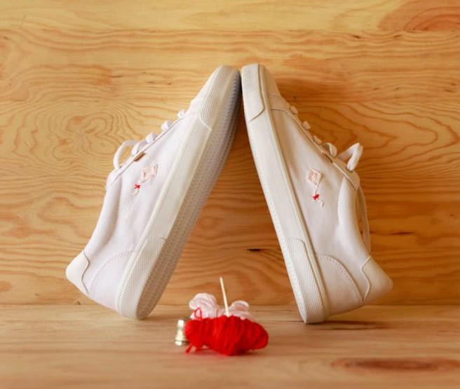 cómo customizar unas zapatillas 22