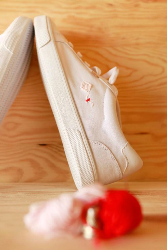 cómo customizar unas zapatillas 27