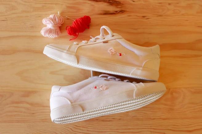 cómo customizar unas zapatillas 34