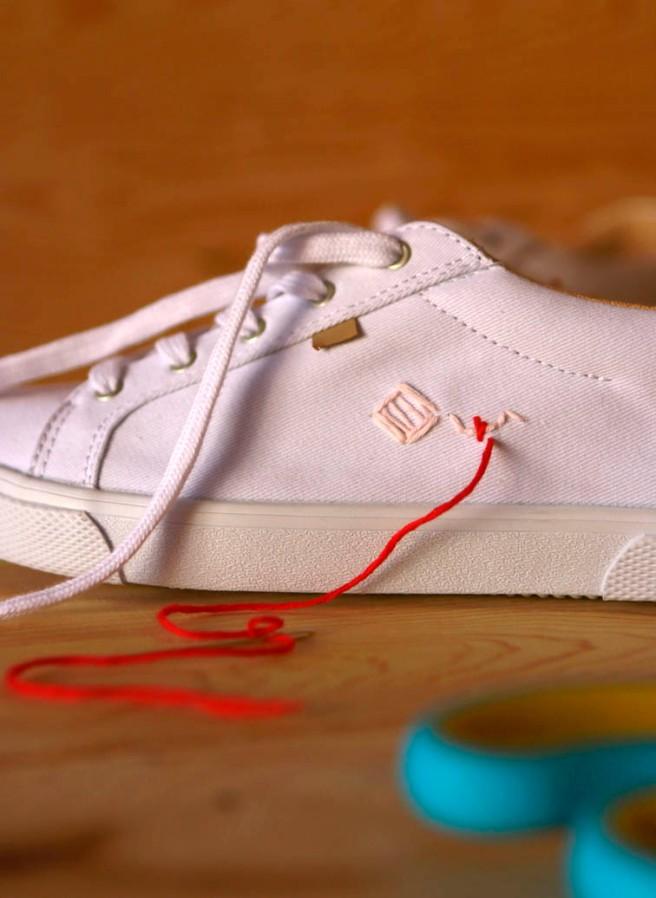 cómo customizar unas zapatillas 6