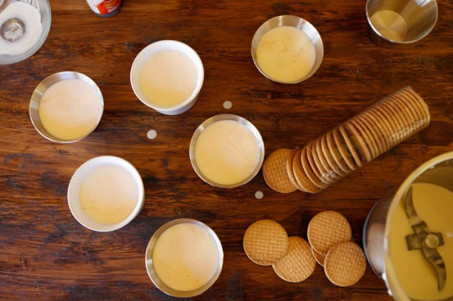 Pastel de queso al caramelo 8
