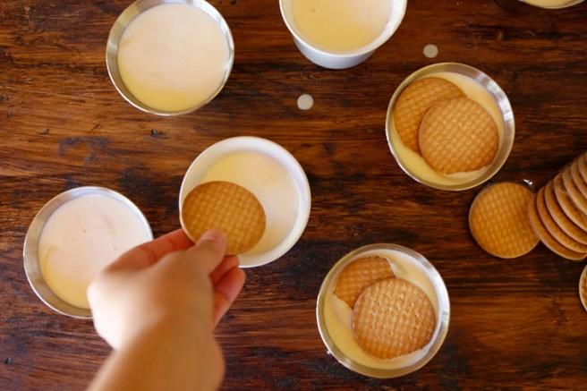 Pastel de queso al caramelo 9