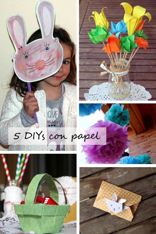 5 DIYs con papel copia